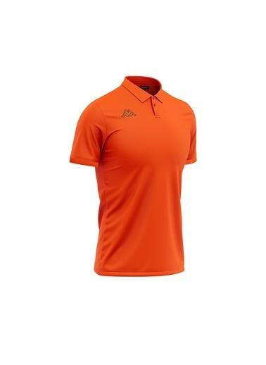 Kappa Polo T-Shirt Esmalto  Oranj